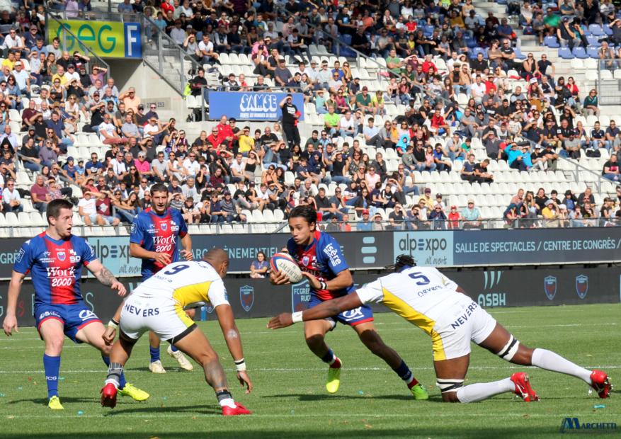 Une mauvaise chute à Vannes pour le FC Grenoble