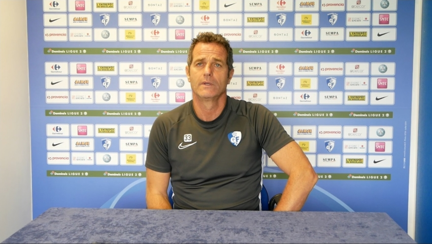 Philippe Hinschberger avant AC Ajaccio – GF38