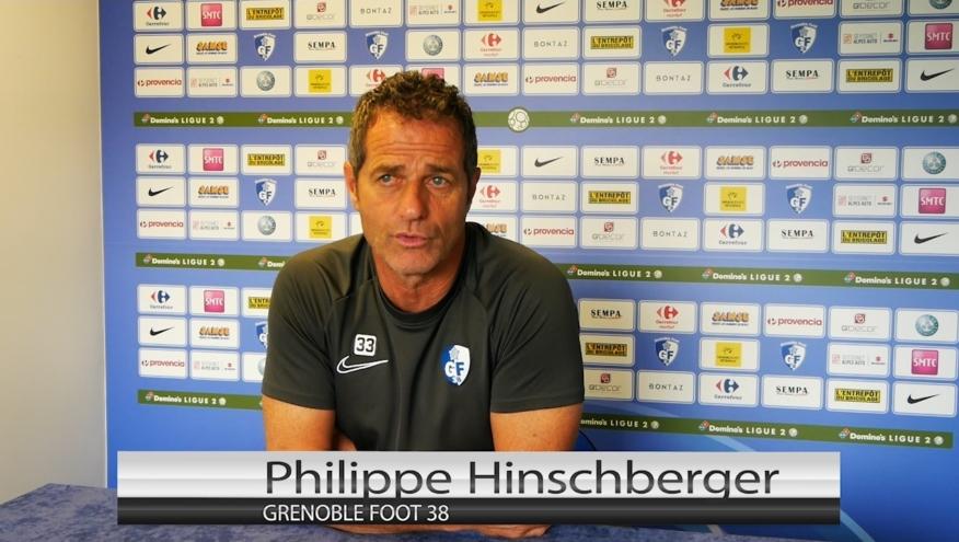 L'interview de Philippe Hinschberger avant GF38 – US Orléans