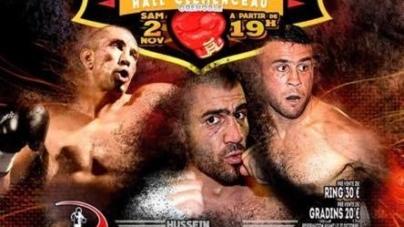 #Boxe – Hussein Bayram «jubilera» lors d'une soirée exceptionnelle le 2 novembre