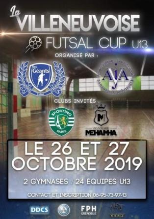 Wallyd Hammada (Futsal des Géants) : «Faire de la Villeneuvoise un rendez-vous important»