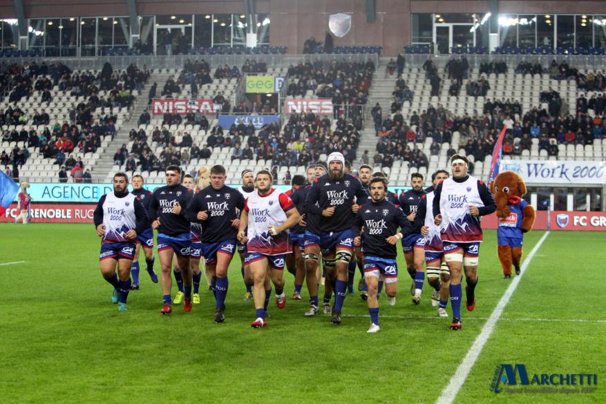 FC Grenoble : le XV de départ contre Montauban