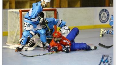 Première défaite de la saison pour les Yeti's Grenoble