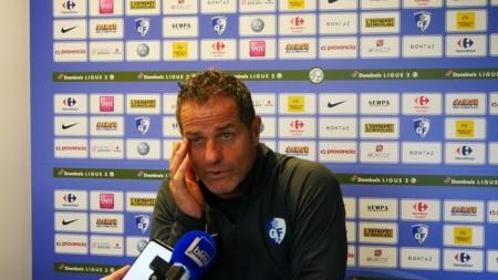 Philippe Hinschberger avant GF38 – Paris FC