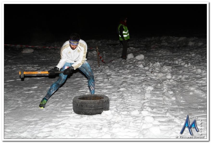 Galerie photos : Nocturne de l'Alpha Run Winter à Chamrousse