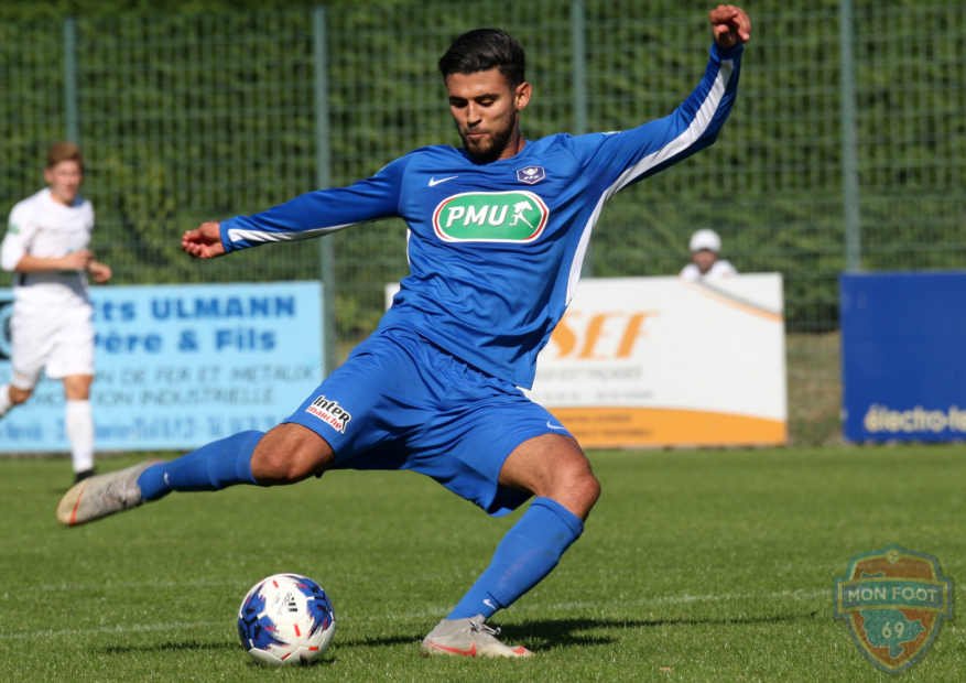 Aziz Bouzit (FC Limonest) fait le point sur sa première partie de saison