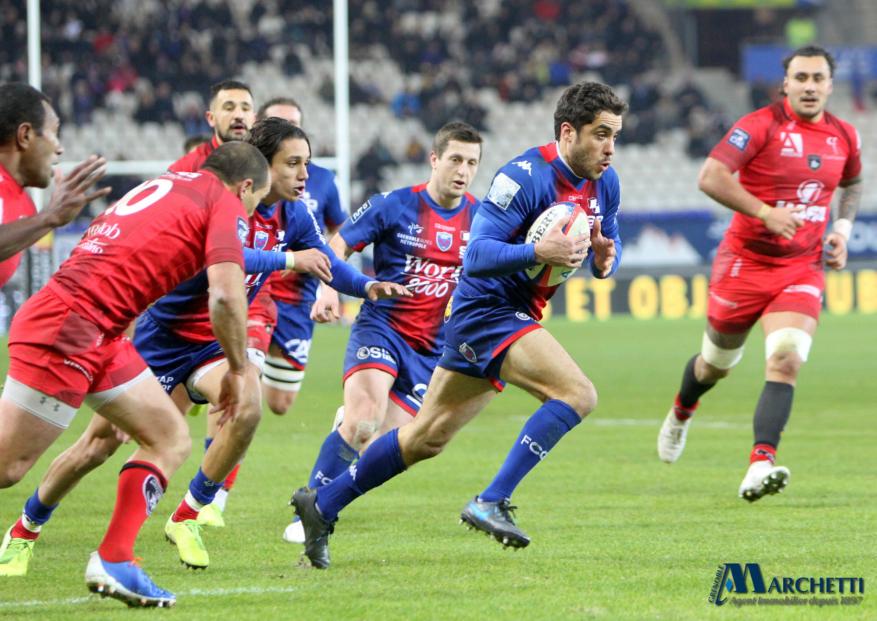 FC Grenoble : le XV de départ contre le Biarritz Olympique