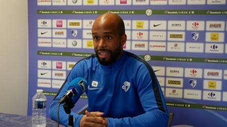 Loic Nestor avant GF38 – Clermont Foot 63