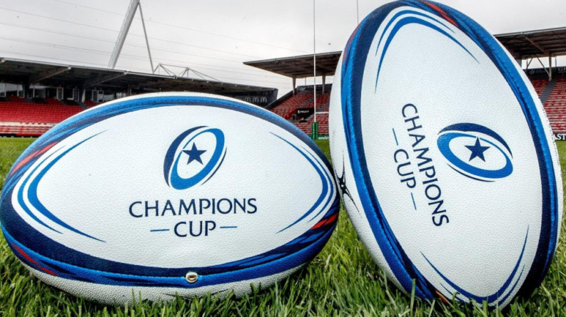 Suspension temporaire des coupes d'Europe de rugby