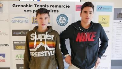 #Tennis- Gabriel et Mathis Debru : une fratrie en or