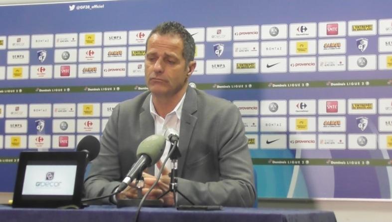 [Conférence de presse] Philippe Hinschberger après GF38 – ParisFC