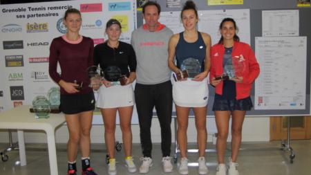 Engie Open de l'Isère : Amandine Hesse et Elixane Lechemia remportent le double