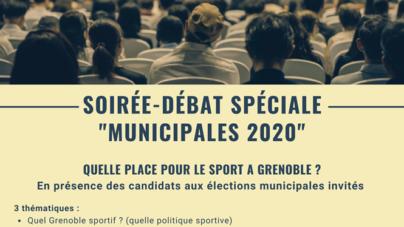 Rencontre OMS spéciale «Municipales 2020» à Grenoble le 17 février