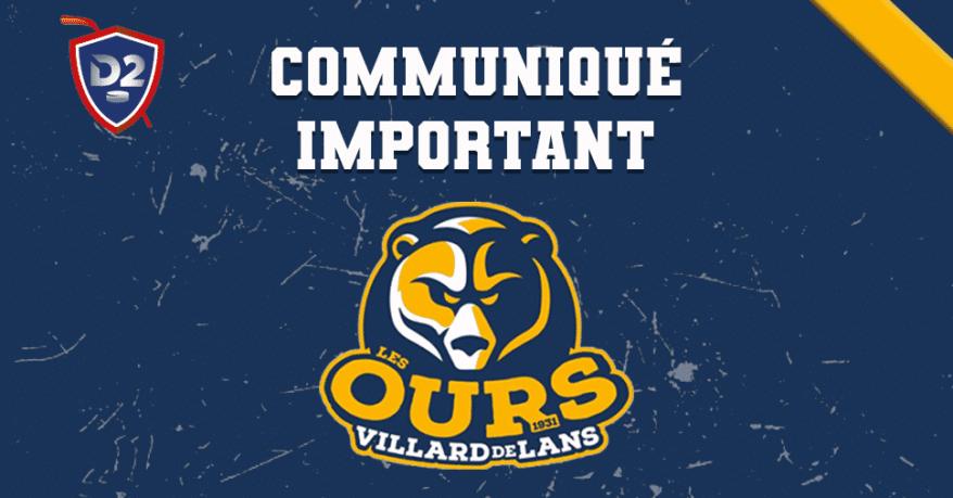 Villard-de-Lans : le nombre de places pour la demi-finale des Ours limité à 900