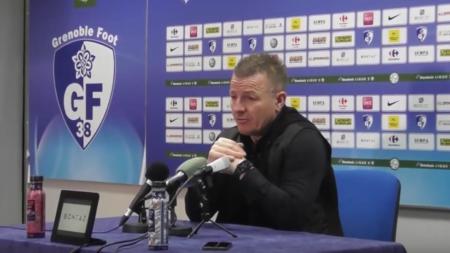 La réaction d'Olivier Guégan après GF38 – Valenciennes (2-0)
