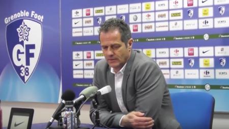 [Conférence de presse] Philippe Hinschberger après GF38 – Guingamp