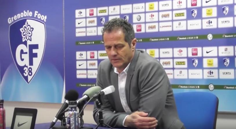 [Conférence de presse] Philippe Hinschberger après GF38 – Nancy