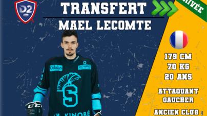 Maël Lecomte revient chez les Ours de Villard-de-Lans