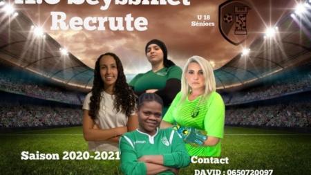 L'AC Seyssinet recrute des féminines