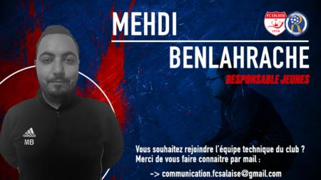 Mehdi BENLAHRACHE rejoint la fusion Salaise/Rhodia en charge de la formation des jeunes