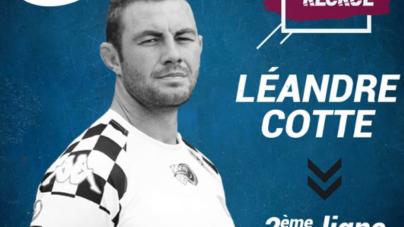 Léandre Cotte fait son retour au CS Bourgoin-Jallieu
