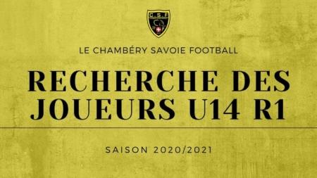 Le Chambéry SF recherche des U14 R1