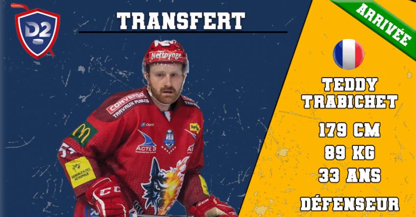 Teddy Trabichet rejoint les Ours de Villard de Lans !