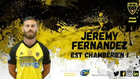 Jérémy Fernandez vers Chambéry !