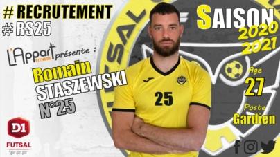 #Futsal – Un gardien rejoint le FC Chavanoz