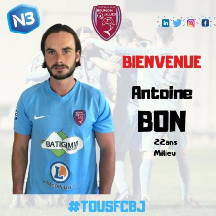 Un milieu de terrain rejoint le FC Bourgoin-Jallieu