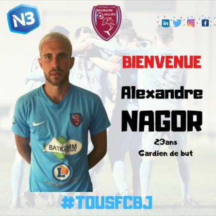 Un nouveau gardien au FC Bourgoin-Jallieu