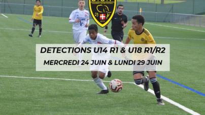 Chambéry organise des détections sur les catégories U18 R1/R2 & U14 R1
