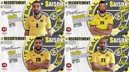 #Futsal FC Chavanoz(D1) : le promu mise sur la stabilité et le local