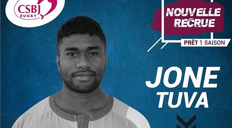 CS Bourgoin-Jallieu : un ailier fidjien arrive en prêt