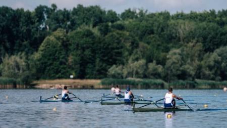 #Aviron – Edouard Jonville et Thibaud Turlan brillent sur le futur bassin olympique de Vaires-sur-Marne