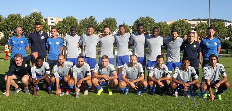 [Régional 1] FC Échirolles : le groupe contre Chassieu Décines