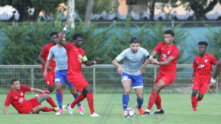 [Coupe de France] Le groupe du FC Échirolles face à Roanne