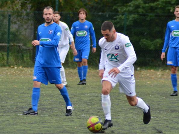 [Coupe de France] Le groupe de l'AC Seyssinet face à Annecy-le-Vieux