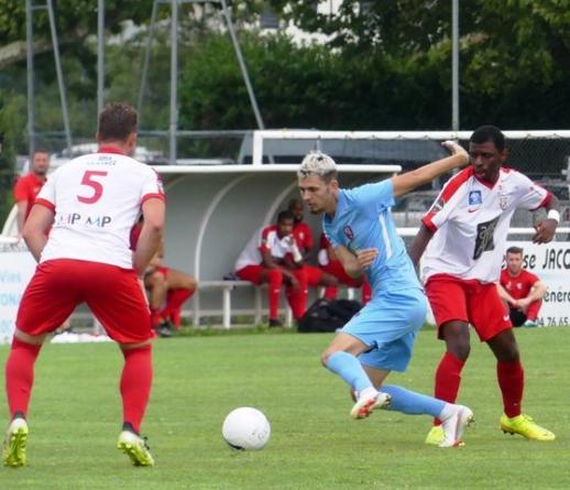 Cyril Martin-Pichon, l'électron libre du FC Bourgoin-Jallieu