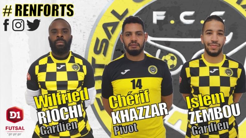 [Futsal] Trois nouveaux joueurs arrivent à Chavanoz