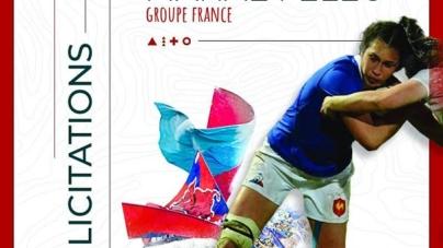 XV de France Féminin – la composition pour l'Angleterre : Gros et Filopon titulaires, Feleu sur le banc