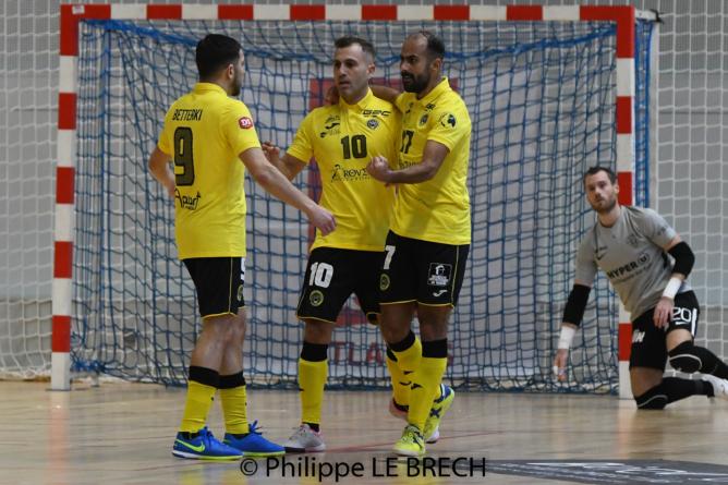 [Photos] La galerie de Nantes Métropole Futsal – FC Chavanoz