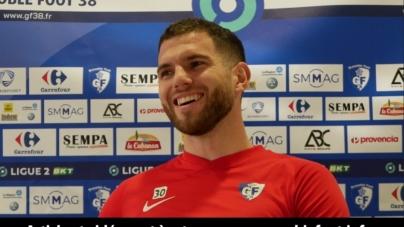 Esteban Salles (GF38) : «La coupe de France reste mon plus beau souvenir»