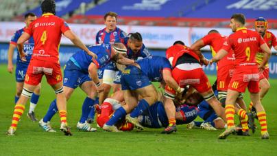 Un point c'est tout pour le FC Grenoble face à Provence Rugby