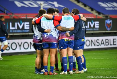FC Grenoble : le XV de départ face à Vannes
