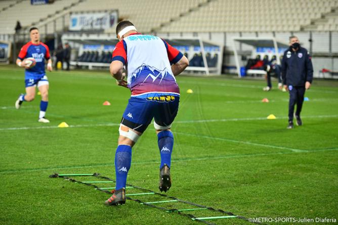 FC Grenoble : le XV de départ face à Carcassonne