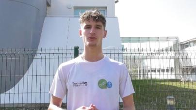 Nathan Bruyère : «L'objectif maintenant c'est les championnat d'Europe juniors»