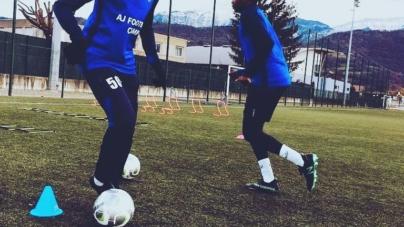 Nic Kashi (FC Voiron Moirans):« Ma sélection ? Un rêve d'enfant qui se réalise»