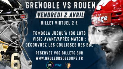 BDL : une billetterie virtuelle et solidaire pour la réception de Rouen