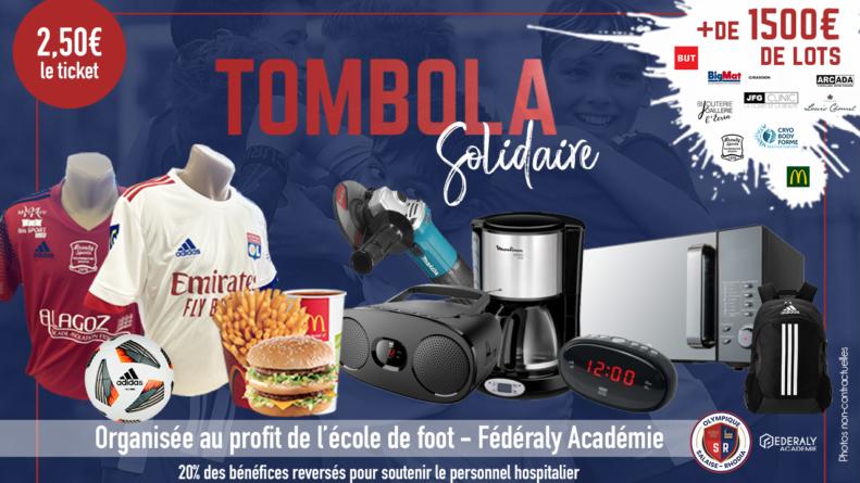 L'Olympique Salaise Rhodia lance une tombola solidaire en ligne